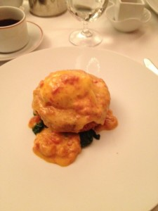 Dr. Jack Dillenberg's breakfast at Cafe Boulud with Allen Finkelstein in NYC.
