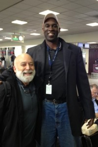 While en route from LAX to Phoenix, Dr. Jack Dillenberg meets Mark West, former Suns Center.