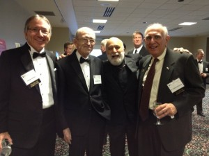 Dr. Jack spends time with friends at the MacKenzie event.