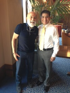 Dr. Jack Dillenberg spends time with C.D. Héctor Carro Hernåndez from Hermosillo, Mexico.