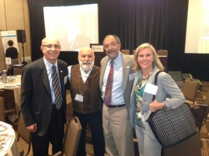 Dr. Jack Dillenberg meets with friends at the Colloquium in D.C.