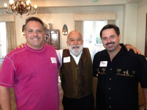 While in Tucson, Dr. Jack Dillenberg visits with Dr.'s Anthony Caputo and Greg Sekora at the Tucson event.
