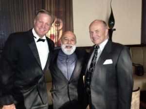 Dr. Craig Phelps, Dr. Jack Dillenberg and John Robinson are all men in black for the Founders Ball.