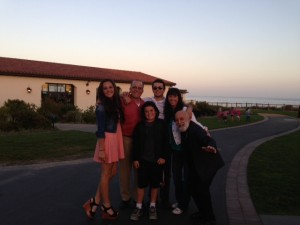 The Dillenberg clan unite in Southern California,