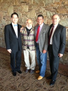 Dr. Jack Dillenberg attends ASDOH's Orthodontic Student Graduation with colleagues.