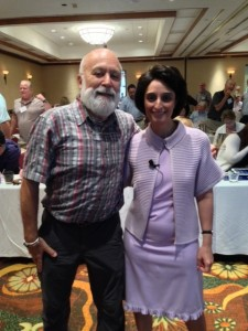 Dr. Jack Dillenberg welcomes Dr. Leila Jahangiri for a second year in a row to speak at the Faculty Advance.