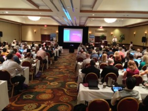 It is a full house at the Ninth Annual Faculty Advance held at the Mesa Hilton.