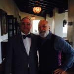 Dr. Jack Dillenberg enjoys time with Dr. David Preble, Senior Vice President for the ADA.