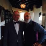 Dr. Jack Dillenberg enjoys time with Dr. David Preble, Senior Vice President for the ADA.