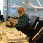 Dr. Jack Dillenberg attends the Alliance Ambassador training.