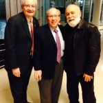 Dr. Jack Dillenberg joins Dr. Allen Finkelstein and Dr. Bruce at Alliance event.