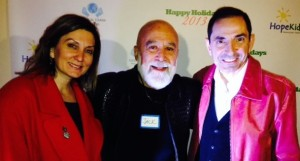 Dr. Jack Dillenberg attends a charity fundraiser with Dr. Saba Kalamchi and his wife Summer.