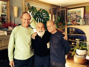 Dr. Jack Dillenberg enjoys times with Dr. John Nash and Dr. Fred Troxel at The Surgeon's House in Jerome, AZ.