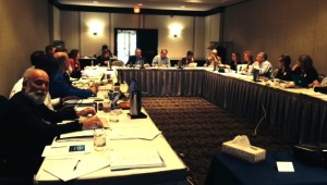 Dr. Jack Dillenberg works with the ATSU strategic planning team in St. Louis, Missouri.