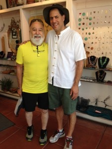 Dr. Jack spends time with Keith Drayer of Henry Shein, hanging out in Jerome.