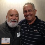 Juan Carlos, CEO of the CHC in Yakima, Washington joins Dr. Jack at ATSU reception.