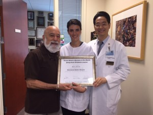 Dr. Jack Dillenberg and Dr. Jae Park with Dr. Maria Forzani from Argentina, the orthodontic international scholar.