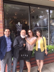 Dr. Sabah Kalamchi and Dr. Jack Dillenberg join Dr. Meena Tappauni and Dr. Biana Roykh for some shopping.