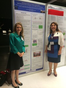 Dr. Klud Razoky and Michelle L. Gross-Panico present The ASDOH research project at the ADEA International Women's Leadership Conference.