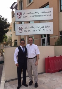 Dr. Tony Hashemian and Dr. Don Altman visit Dubai Dental Clinic.