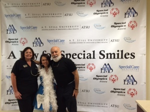 Dr. Jack joins A Day for Special Smiles with Dr. Maureen Perry and the tooth fairy.