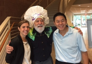 Dr. Jack welcomes super chefs Dr. Gregg and Chef Julie to ASDOH.