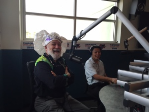 Dr. Jack and Chef Gregg visit the EVIT school where they are interviewed at the student radio station.