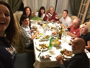 Dr. Jack celebrates the holidays with theDillenberg family.