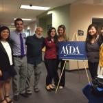 Dr. Jack Dillenberg joins the ASDOH ASDA student leaders at the pre-dental workshop.
