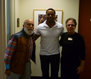 Seattle slugger, Nelson Cruz, visits ASDOH.
