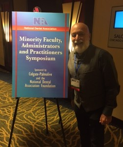 Dr. Jack arrives at the National Dental Association Annual Conference.