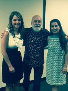 Dr. Jack joins Christy Ryan from the Ariz. Summit Law School and ASDOH's Dr. Mindy Motahari at the certificate presentation celebration.