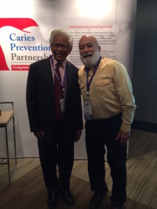 Dr. Jack and Prof. Prathip Phantumvanit join other experts at the Colgate workshop on caries prevention.