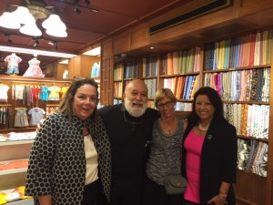 Guess who Jack caught shopping at Jim Thompson's? ADA President, Dr. Maxine Feinberg and Dr. Carol Sommerhayes, ADA President elect, that's who!