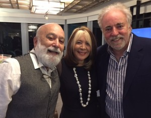 Dr. Jack joins his dental school roommate, Dr. Mel Gober and his wife Mara, celebrating his 70th birthday in South Beach, Miami in Florida.