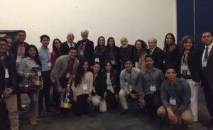 Dr. Jack joins students and Harvard and Kings College deans.