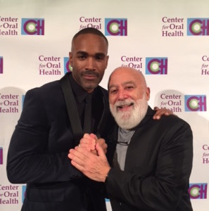 Dr. Jack joins Donnell Turner, star of General Hospital, at the COH gala.