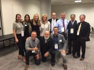ASDOH leaders and alumni visit at the Greater New York ASDOH reception.