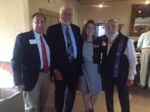 Dr. Jack joins ATSU colleagues at alumni event in Tucson.