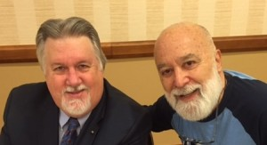 During the ICE breakfast, Dr. Jack Dillenberg joined the ADA president elect, Gary Roberts, from Louisiana in an early morning conversation.