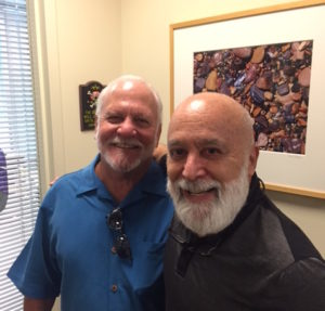 Jack Beverage, CEO of Empowerment Systems, and long time friend, visits Dr. Jack.