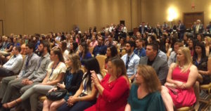 Many dental students, ADA leaders, dentists and faculty attend the debate held at the Scottsdale Princess Resort.