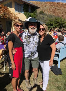 Jack and Jamie join Dr. Virginia Kennaway, local veterinarian, at the Jerome Humane Society Fund Raiser on Sunday.