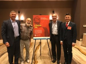 Dr. Jack Dillenberg joins dentaquest leaders at the oral health for the oral 2020 meeting held in Phoenix.