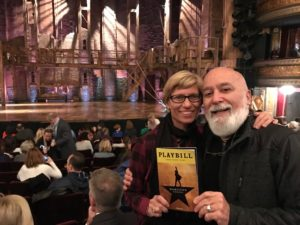 Dr. Jack and Jamie take an afternoon off to enjoy the Broadway Musical, Hamilton.