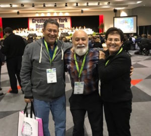Dr. Jack meets former Tel Aviv Dental School Dean at the GNYDM.