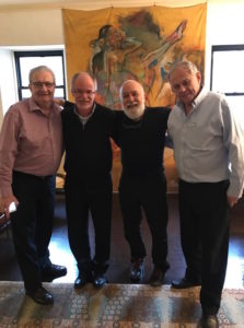 Dr. Jack joins Dr. Allen Finkelstein along with the current and former dean of the Hebrew University Dental School in Jerusalem.