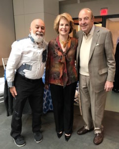 Dr. Jack joins Dr. D. Walter Cohen and Claire to celebrate Dr. Cohen's 90th birthday celebration.