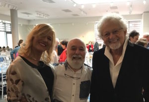 Dr. Adi Garfunke; and wife, Bianca, also join Dr. Jack for Walter's 90th birthday celebration.